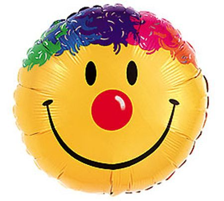 Ballon Aluminium Géant Smiley