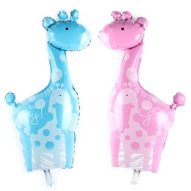 Ballon Girafe aluminium Mylar