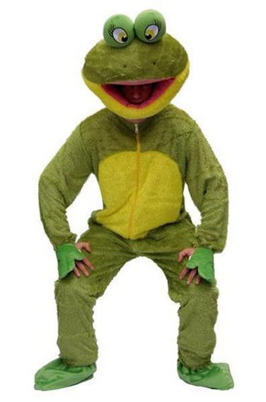 Déguisement de grenouille