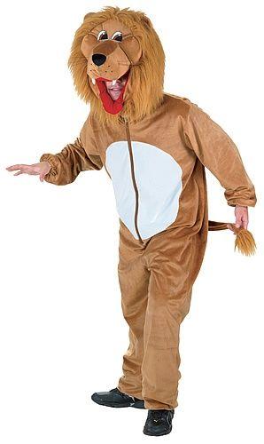 Déguisement de lion adulte