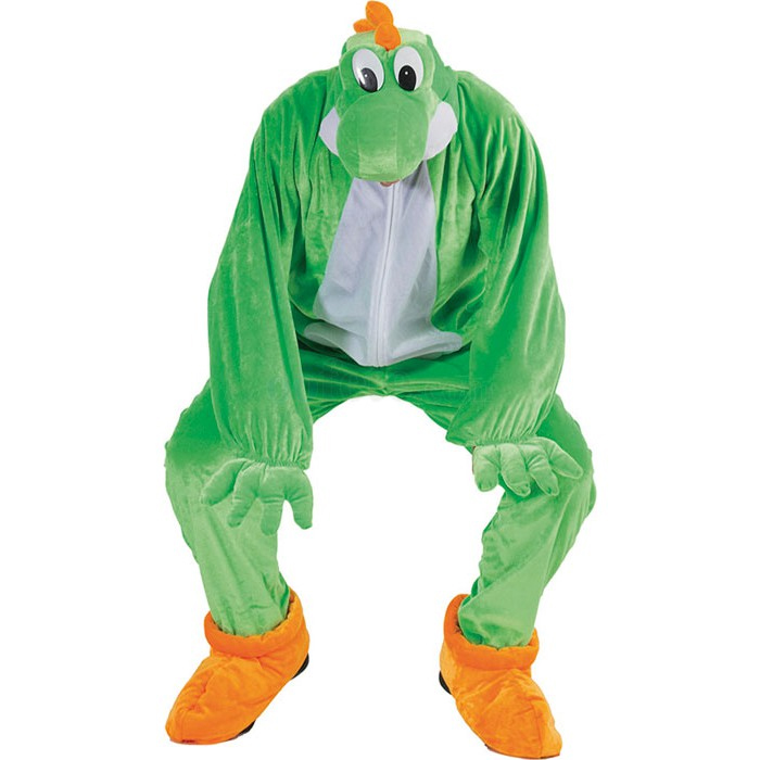 Déguisement de dragon vert