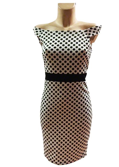 Robe à pois Brigitte Bardot