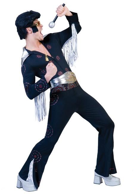 Costume Elvis noir