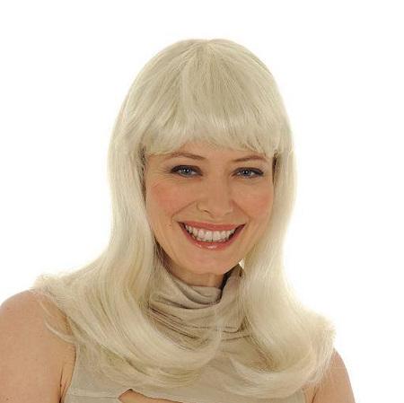 Perruque Lady Gaga blonde