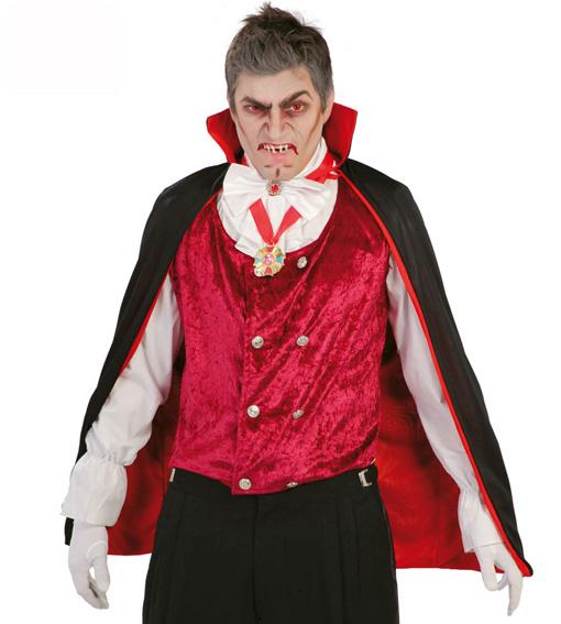 Cape de vampire bicolore