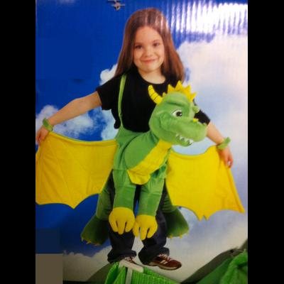 Déguisement de dragon ailé