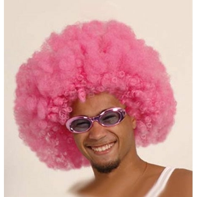 Perruque Afro Disco Couleur