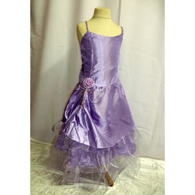 Robe de cérémonie enfant lilas