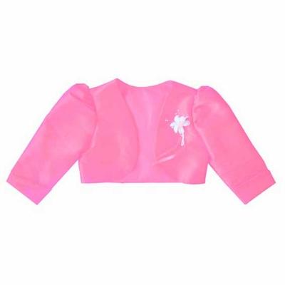 Boléro perlé rose pour enfant