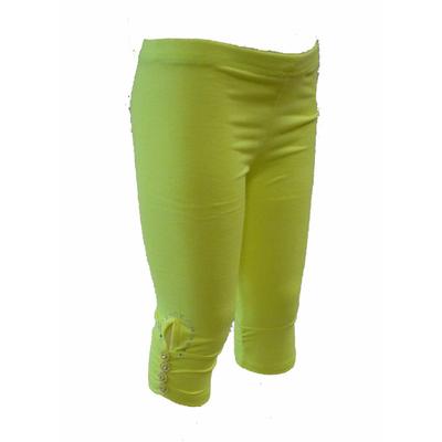 legging enfant fluo jaune