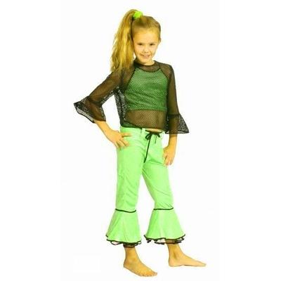 Déguisement Disco Vert Fluo Enfant