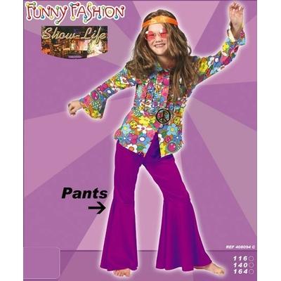 Pantalon Hippie Disco Enfant Violine