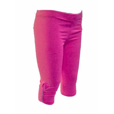 legging enfant fluo rose