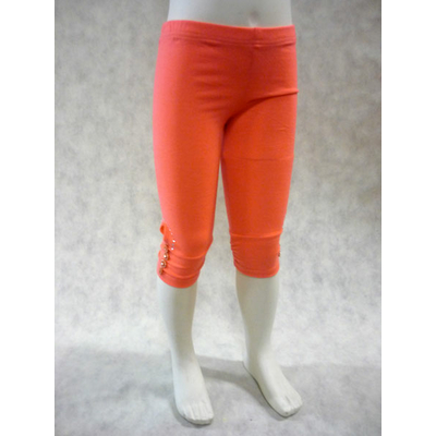 legging enfant fluo orange