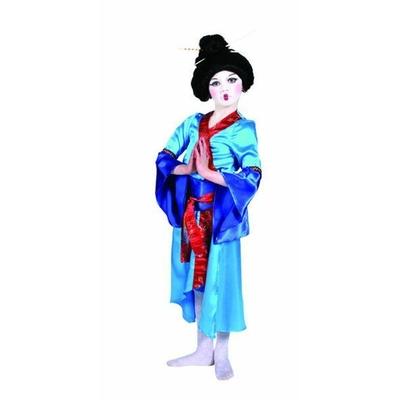 Déguisement de Geisha Bleue Enfant