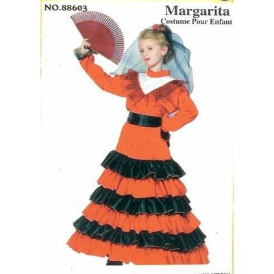 Déguisement Espagnole Margarita Enfant