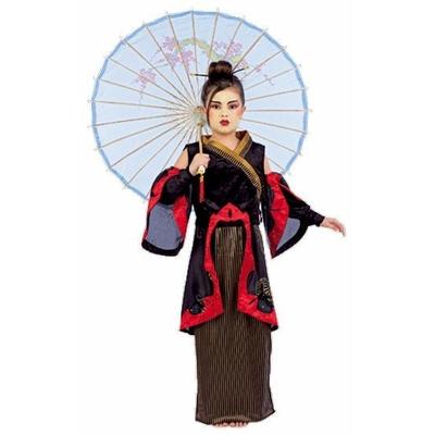 Déguisement de Geisha Avec l'Ombrelle