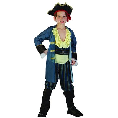 Déguisement pirate pour enfant bleu