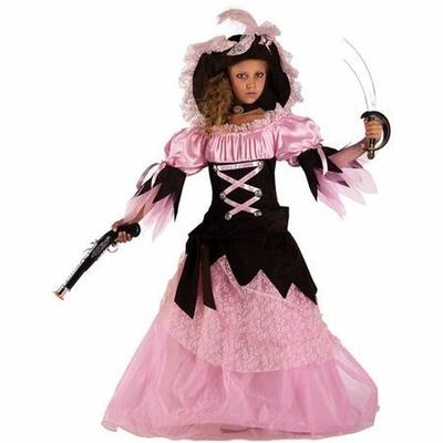 Déguisement Reine des Pirates Enfant