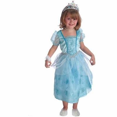Déguisement de Princesse Bleue En Organza
