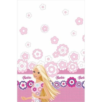 1 Nappe Papier - Pliée(120Cmx180Cm - Barbie©