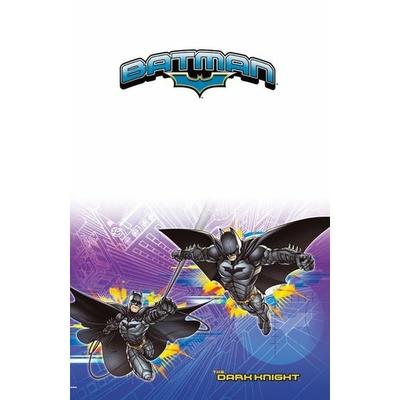 1 Nappe Papier - Pliée (180 cm X 120 cm)-Batman™