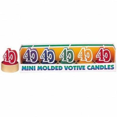 5 Mini Bougies 40