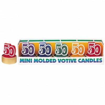 5 Mini Bougies 50