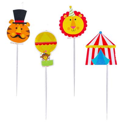 Bougies thème cirque