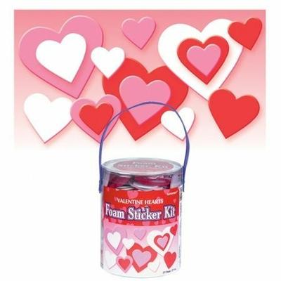 Pack de 285 Stickers Coeurs