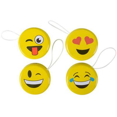 4 Yoyo thème Emoji , emoticône