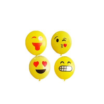 8 BALLONS EMOJI , Emoticône