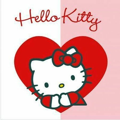 20 Serviettes Hello Kitty