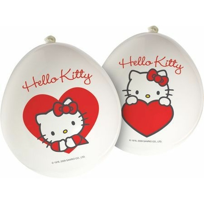 12 Ballons Latex - Hello Kitty©
