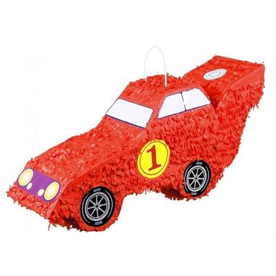 Pinata voiture de course rouge