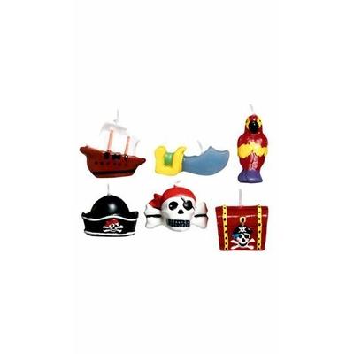 Bougies/6 Pirates