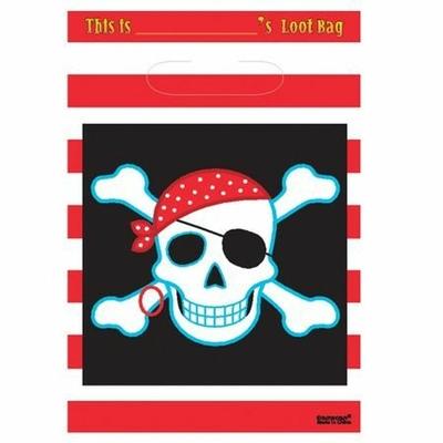8 Sachet Cadeaux Pirate
