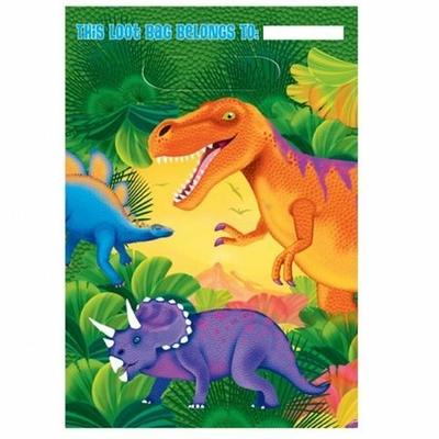 Sachets Cadeaux Dinosaures