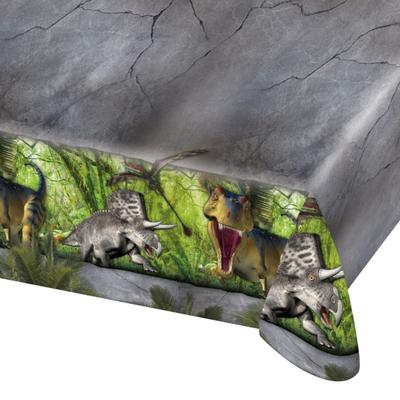 Nappe plastique dinosaure
