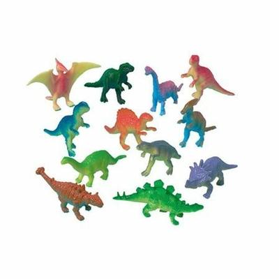 Pack de 12 Mini Dinosaures 5Cm