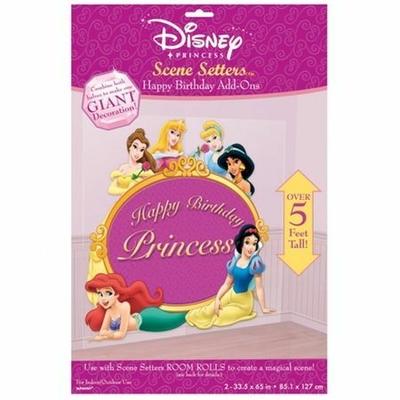 Scènes Princesses Anniversaire