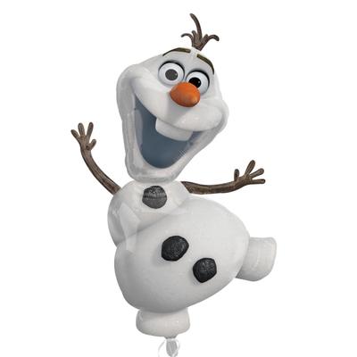 Ballon Olaf la Reine des Neiges