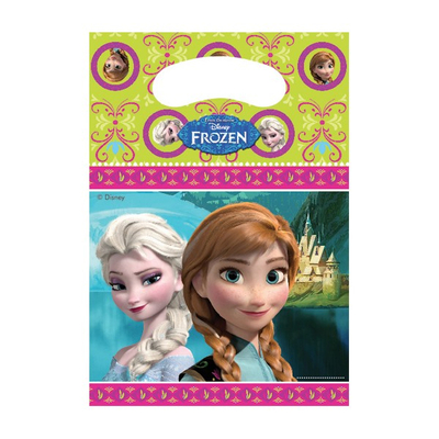 6 sac à cadeaux Reine des neiges Princesses Frozen