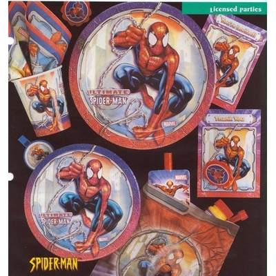 Serviettes Spiderman