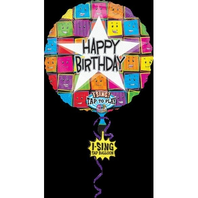 Ballon Happy Birthday Musical