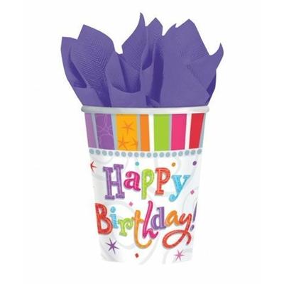 Verres Happy Birthday