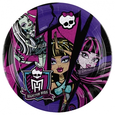 Assiettes Monster High 23cm