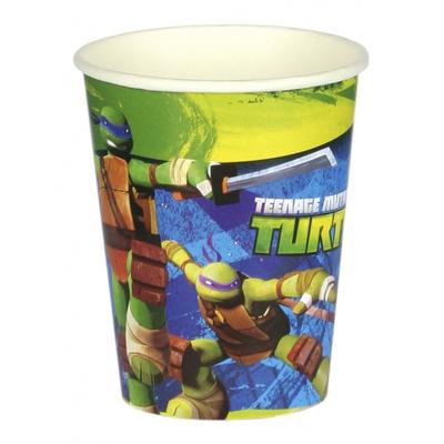 8 Verres 266 ml Tortues Ninja™