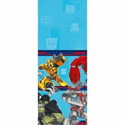 Nappe En Plastique Thème Transformers