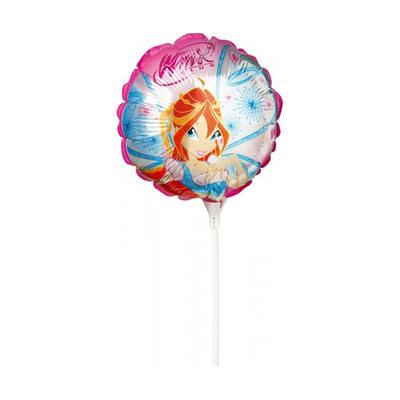 Ballons Winx 25 cm sur tige